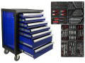 Шкаф инструментальный с оборудованием ПРЕМИУМ CRV 177 елементов GEKO 10832
