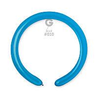 Воздушные шарики ШДМ Gemar D4 конструктор синий (140см) 100 шт