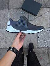Мужские кроссовки Nike Sock Dart Wolf Grey , фото 3