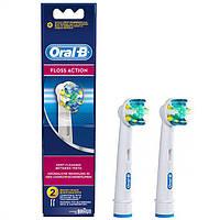 Насадки для зубной щетки ORAL-B floss action 2 шт.