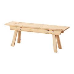 Скамья IKEA INDUSTRIELL 125 см сосна 503.945.37