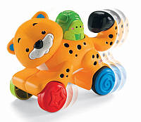 Fisher Price Инерционная игрушка гепард Press 'n Go Cheetah, фото 1