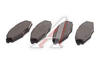Колодки тормозные задние дисковые Lacetti 1.6/1.8 04-