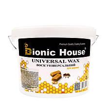 Віск для дерева універсальний 3л-Натуральний бджолиний віск з додаванням натуральних олій.