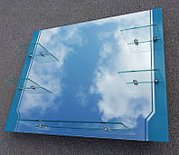 Зеркало для ванной комнаты 90х70 см