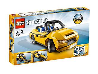 LEGO 5767 - Жовтий кабріолет (Лего Желтый кабриолет)