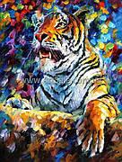 """Купить картину маслом """"Тигр"""""""