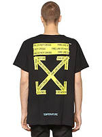 Off - white fire line do not cross