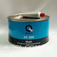 Q-Refinish 20-300 Поліефірна шпатлівка MULTI багатофункціональна (1,8 кг), фото 1