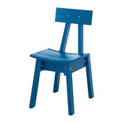 Кресло IKEA INDUSTRIELL синее 603.945.08