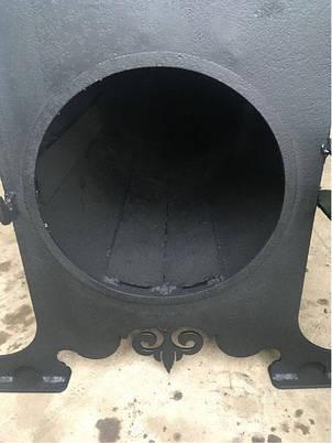 Печь буржуйка с двумя конфорками, фото 2