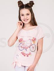 Cтильные футболки для девочки ТМ Suzie Р-ры 116- 158