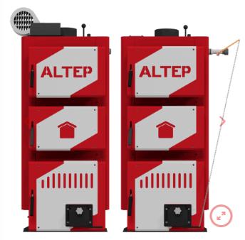 Котел твердотопливный Altep (Альтеп) Classic PLUS 30 кВт. Бесплатная доставка.