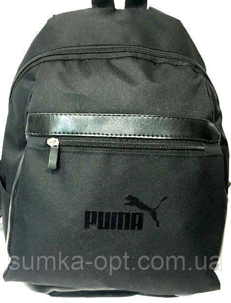 Рюкзаки спорт стиль Puma (черный)26*35