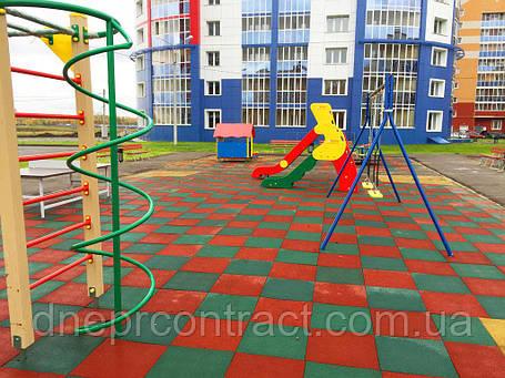 Резиновое покрытие для детских площадок , фото 2