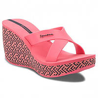 82288-20970 Шлепанцы женские на платформе Ipanema Lipstick Straps LV Fem Pink/Pink, фото 1