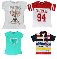 Пополнение ассортимента новыми, качественными детскими футболками. Турция!
