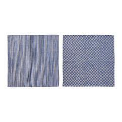Полотенце кухонное IKEA INDUSTRIELL 60x60 см 2 шт синий 504.022.12
