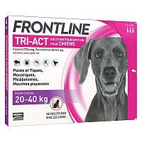 FRONTLINE TRI-ACT Spot-On L - краплі від бліх, кліщів і комах для собак 20-40 кг