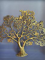 Бронзовое дерево на стену, фото 1