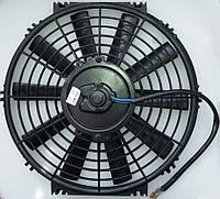 """Вентилятор 12"""", 12B, 100W, прямые лопасти, PUSH"""
