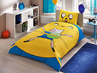 Детское подростковое постельное белье TAC Disney Adventure Time Ранфорс