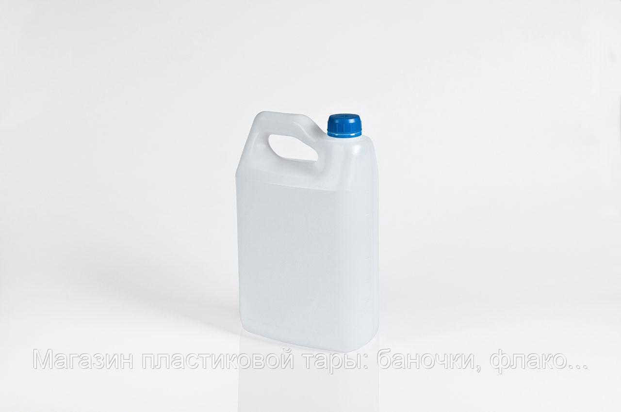 """Канистра пластиковая 4л """"Альфа"""", фото 1"""