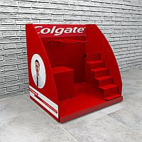 Настольные рекламные стойки Colgate торговая подставка настольная