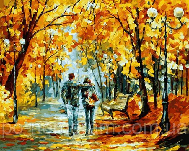 Картина Теплый октябрь, Афремов Леонид