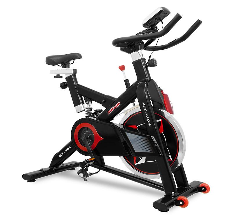 Велотренажер спінбайк SCUD 704 (до 150 кг)