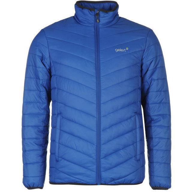 Мужская стеганая куртка Gelert Shield синяя оригинал