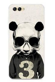 Чехол силиконовый для Huawei honor V10 с картинкой панда