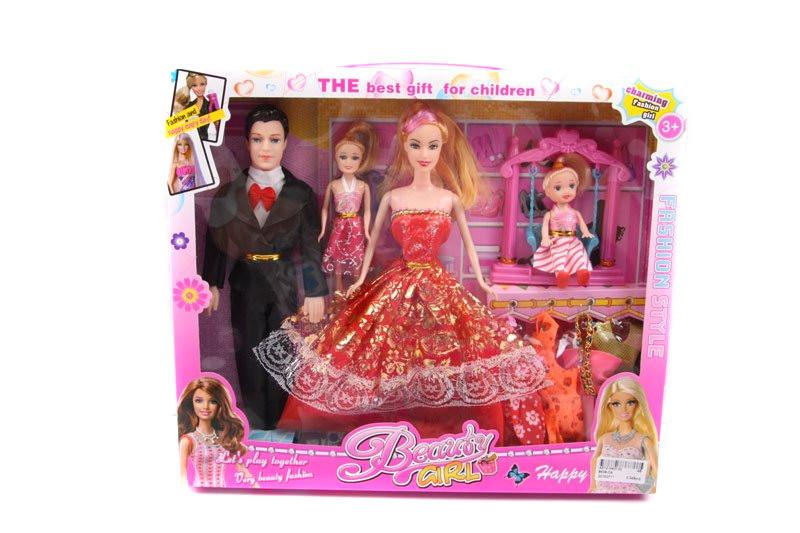 "Кукла типа ""Барби""Семья"" 8638-C4"