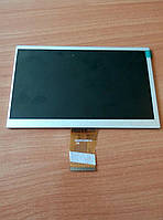 """Дисплей China Tablet 7"""" (50pin) 3010201257-A0/BF60907001/KR070PG9S/7300101466 (164*103) (1024*600)"""