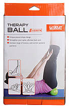 Мяч для фитнеса «LiveUp» LS3574 28x12см MINI THERAPY BALL, фото 3