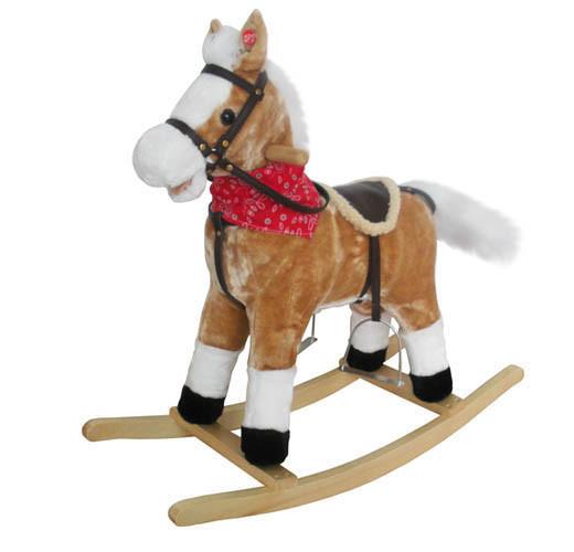 Качалка лошадь BT001B музыкальная