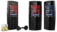 Телефон Nokia Х2-02 Duos Black 2 sim Качественная копия Сверх громкий динамик металлический корпус