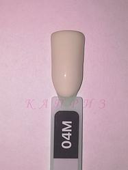"""Гель-лак """"Ваsic collection"""" 8 мл, KODI MILK 04M (молочно-бежевые и молочно-розовые оттенки)."""