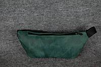 Поясная сумка бананка |11701| Зеленый
