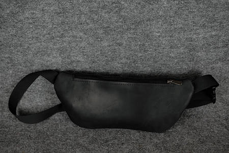 Поясная сумка бананка |11702| Черный