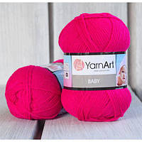 YarnArt Baby -  8041 темно малиновый
