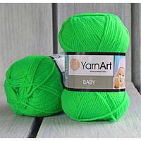 YarnArt Baby -  8233 салатовый