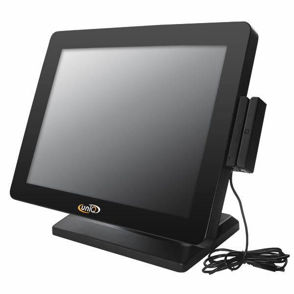 POS монитор UNIQ-TM 15.02 со считывателем магнитных карт