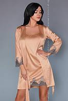 Халат и пеньюар Sancha LC Livia Corsetti Fashion бежевый S/M L/XL