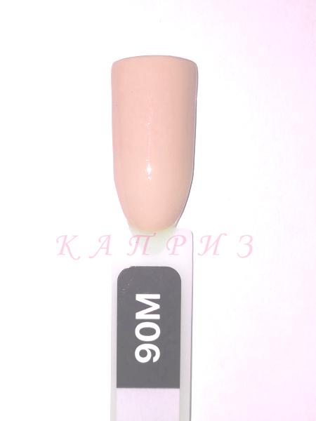 """Гель-лак """"Ваsic collection"""" 8 мл, KODI MILK 90M (молочно-бежевые и молочно-розовые оттенки)."""
