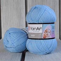 YarnArt Baby -  215 голубой