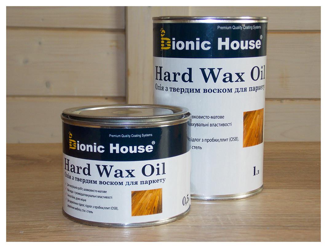 Hard Wax Oil 10л - Масло для підлоги з твердим воском