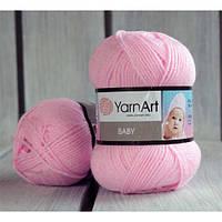 YarnArt Baby -  217 светло розовый