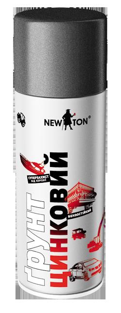 Грунт аэрозольный цинковый NewTon 400мл