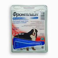 FRONTLINE Spot-On XL- капли на холку от блох, клещей и насекомых для собак 40-60кг (4,02мл)